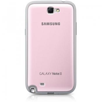 Husa Samsung pentru N7100 Galaxy Note II Pink EFC-1J9BPEGSTD