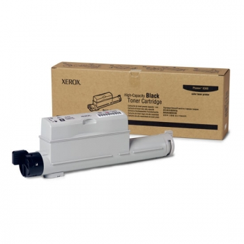 Cartus Toner Xerox 106R01221 Black High Capacity 18000 Pagini for Phaser 6360DN, 6360DT, 6360DX, 6360N