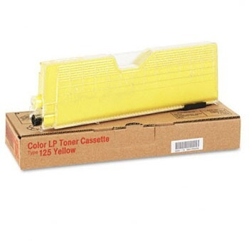 Cartus Toner Ricoh Type 125 Yellow 5500 pagini for Ricoh CL 3000, CL 3100, CL 3100N 400841