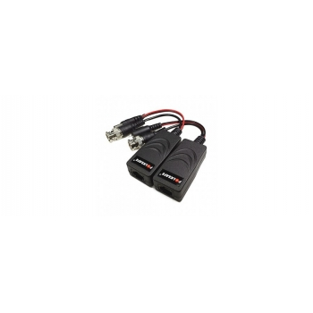 Adaptor de impedanta Video Balun pasiv BNC cu fir VD-208HD pret pe bucata