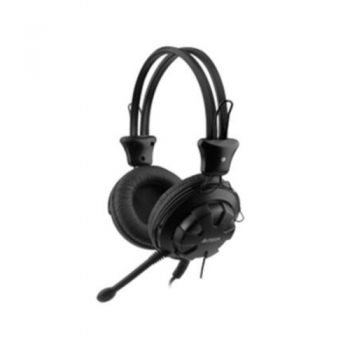 Casti A4Tech HS-28-1 cu microfon si control de volum black