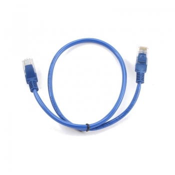 Patch cord UTP Gembird cat. 5E 0.5m albastru PP12-0.5M/B