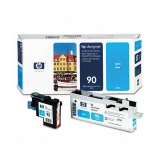 Cap Printare HP Nr. 90 Cyan for Designjet 4000, 4020, 4020PS, 4500, 4520, 4520 Scanner, 4520HD, 4520PS C5055A
