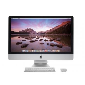 "iMac All-in-One, 27"" LED-Backlit IPS 5K (5120x2880), Intel Quad-Core i5 (3.5GHz, Turbo boost up to 3.9GHz), video dedicat AMD R9 M290X 2GB GDDR5, RAM 8GB DDR3 1600MHz (2x4GB), HDD 1TB 7200rpm, no ODD, LAN 10/100/1000, WLAN a/c, BT 4.0, Porturi: 4xUSB"