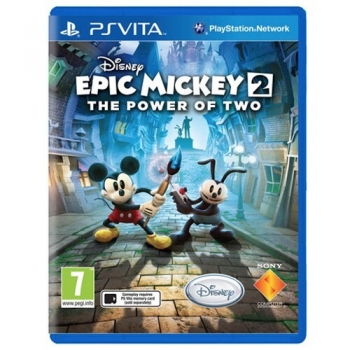 Joc Sony Epic Mickey 2: The Power of Two PS Vita PCSF-00308