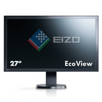 "Monitor LED IPS Eizo 27"" EV2736WFS-BK 2560x1440 DisplayPort DVI-D USB Black"