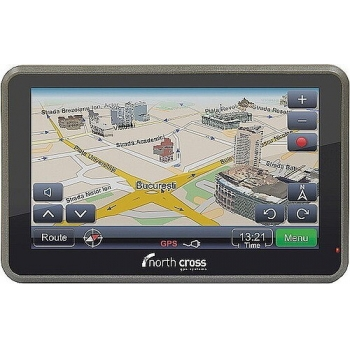 "GPS North Cross ES515 FE 5.0"" 4GB harta Europa Atlas IV"