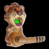 Incuietoare cu amprenta DLA-CART , cod si cheie; in forma de tigru Capacitate 120 amprente, Standalone (nu necesita software), include broasca cu un punct de inchidere
