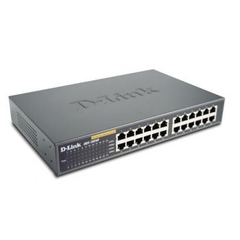 Switch D-Link DES-1024D 24xRJ-45 10/100Mbps