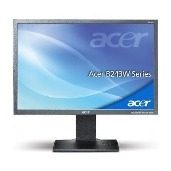 "Monitor LED Acer 24"" B243WCymdr 1920x1200 VGA DVI ET.FB3ZE.C01"