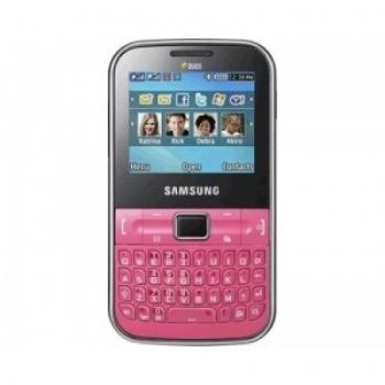 Telefon Mobil Samsung Chat C3222 Pink Dual SIM SAMC3222PNK