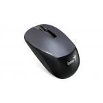 Mouse Genius wireless, optic, NX-7015, 800/1200/1600dpi, Iron grey Metallic, 2.4GHz, USB