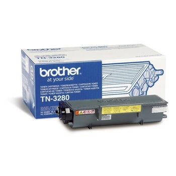 Cartus Toner Brother TN3280 black capacitate 8000 pagini for DCP-8070D, DCP-8085DN, HL-5340D, HL-5350DN, HL-5350DNLT, HL-5370DW, HL-5380DN, MFC-8370DN, MFC-8380DN, MFC-8880DN, MFC-8890DW