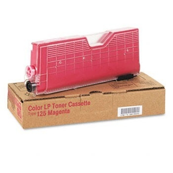 Cartus Toner Ricoh Type 125 Magenta 5500 pagini for Ricoh CL 3000, CL 3100, CL 3100N