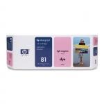 Cartus Cerneala HP Nr. 81 Dye Light Magenta 680 ml for Designjet 5000/UV, Designjet 5500 42', Designjet 5500 60', Designjet 5500 PS 42', Designjet 5500 PS 60' C4935A