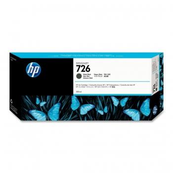 Cartus Cerneala HP Nr. 726 Matte Black 300 ml for Designjet T1200 A0, Designjet T1200 HD MFP A0, Designjet T1200PS A0, Designjet T2300 E-MFP A0, Designjet T2300PS E-MFP A0 CH575A