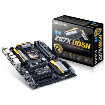 Placa de baza Gigabyte Z87X-UD5H Socket 1150 Chipset Intel Z87 4x DIMM DDR3 3x PCI-E x16 3.0 3x PCI-E x1 1x PCI HDMI DVI DP 6x USB 3.0 ATX