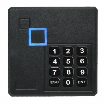 Terminal control acces YK-03AMF stand-alone pentru o singura usa Capacitate 1600 de utilizatori identificati prin card sau card si PIN Wiegand 34