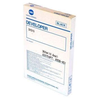 Developer Konica Minolta DV-310 Black 100000 pagini for Minolta Bizhub 222, 222+DF-620, 250, 282, 282+DF-620+DK-506e, 350, 362, 362+DF-620 8938-451