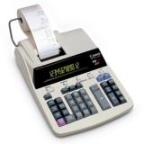 Calculator profesional cu rola Canon MP 1211-LTSC 12 digit ink ribbon 2 culori Conversie valuta/taxe/business BE2496B001AA