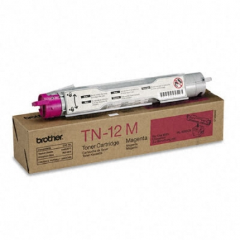 Cartus Toner Brother TN12M Magenta 6000 Pagini for Brother HL 4200CN