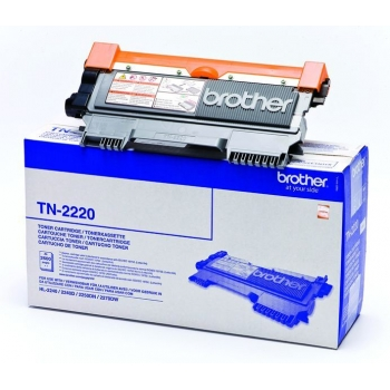 Cartus Toner Brother TN2220 Black 2500 Pagini for DCP-7070DW, HL-2240, HL-2240D, HL-2250DN, MFC-7360N, MFC-7460DN