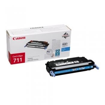 Cartus Toner Canon CRG-711C Cyan 6000 Pagini for LBP 5300, LBP 5360, MF 9130, MF 9170, MF 9220CDN, MF 9280CDN CR1659B002AA