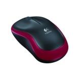Mouse Wireless Logitech M185 Optic 3 Butoane 1000 DPI USB Red 910-002240