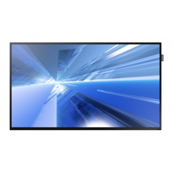"Monitor LFD LED Samsung 40"" DH40E SMART Signage Full HD 1920x1080 VGA DVI HDMI DisplayPort Retea RJ45 8ms LH40DHEPLGC/EN"