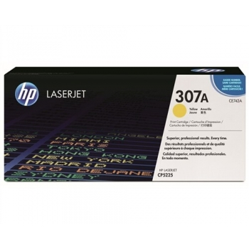 Cartus Toner HP Nr. 307A Yellow 7300 Pagini for Color LaserJet CP5220, CP5225, CP5225DN, CP5225N CE742A