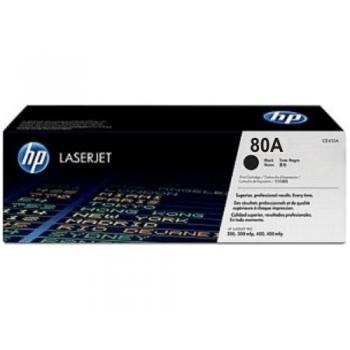 Cartus Toner HP Nr. 80A Black 2700 Pagini for LaserJet Pro 400 M401, 400 M425 CF280A