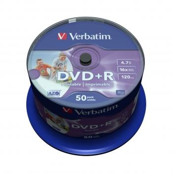 VERBATIM 43651 DVD+R ADV AZO+ 16X 50SP
