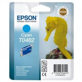 Cartus Cerneala Epson T0482 yellow capacitate 400pagini for R220, R300, R320, R340, RX500, RX600, RX620, C13T04824010