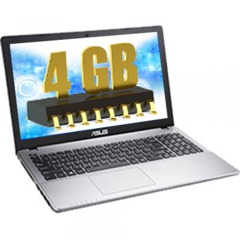 "Laptop Asus A550VX-XX326D Intel Core i7-6700HQ up to 3.50GHz 4GB DDR4 HDD 1TB nVidia GeForce GTX 950M 2GB 15.6"" HD Grey"