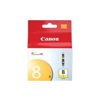 Cartus Cerneala Canon CLI-8Y Yellow 13 ml for IP4200 BS0623B001AA