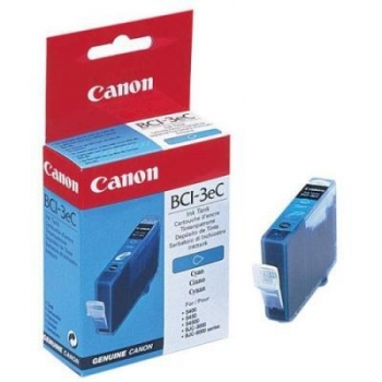 Cartus Cerneala Canon BCI-3EC Cyan 390 Pagini for MPC100, S400 BEF47-3141300