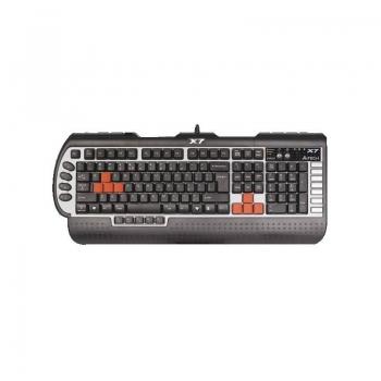 Tastatura gaming A4Tech X7 G800V Rezistenta la apa 15 macro keys