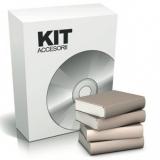 Kit accesorii KIT-HLA pentru seria HLA Include programatorul de cartele, o cartela receptor de date, softul de gestionare,20 de cartele MIFARE S50 de 13.56MHz