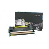 Cartus Toner Lexmark C734A2YG Yellow 6000 pagini for C734, X734, C736, X736, X738