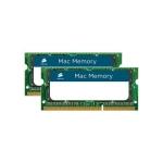 Memorie RAM Laptop SO-DIMM Corsair KIT 2x8GB DDR3 1333MHz CL9 compatibila Mac CMSA16GX3M2A1333C9