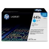 Cartus Toner HP Nr. 641A Cyan 8000 Pagini for Color LaserJet 4600, 4650 C9721A
