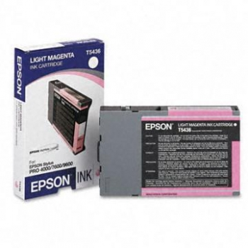 Cartus Cerneala Epson T5436 Light Magenta 110ML for Epson Stylus Pro 4000, Stylus Pro 7600, Stylus Pro 9600 C13T543600