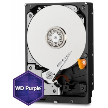 HDD Western Digital Purple Surveillance 4TB 64MB IntelliPower SATA3 WD40PURX