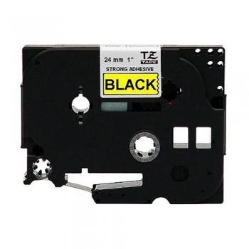 Banda Brother TZS65 124mm Negru pe Galben pentru P-Touch 550, 9200PC, 9400, 9200DX, 9600, 3600, 9500PC, RL 700S