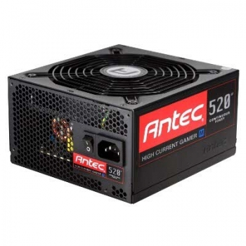 Sursa Modulara Antec High Current Gamer 520W 6x Molex 6x SATA 2x PCI-E PFC Activ OVP, UVP, SCP, OCP, OPP, SIP 80+ Bronze HCG-520M