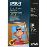 Epson Photo Paper Glossy 10x15cm, 100 sheets 10x15cm photo paper 200g/m2