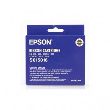 Ribbon Epson S015016 Black for LQ-1060, LQ-2500, LQ-2550, LQ-670, LQ-680, LQ-680 PRO, LQ-860 C13S015262 / C13S015016