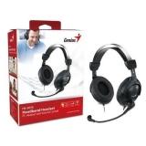 Casti Genius HS-505X cu microfon si control de volum black 31710058101
