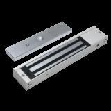 "Electromagnet aplicabil Silin SM-280LEDA de 280 kg forta cu led si monitorizare. Monitorizare NC-COM-NOA include suportul ""I"", fail-safe, protectie de supratensiune incorporata Accesorii: SB-280ZLA"