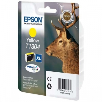 Cartus Cerneala Epson T1304 Yellow 10.1ml for Stylus Office BX320FW, B42WD, BX525WD, BX535WD, BX625FWD, BX630FW, BX635FWD, BX925FWD, BX935FWD, SX525WD C13T13044010